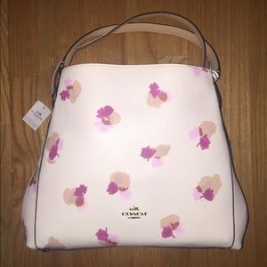 Coach Edie 31 Floral Bag & Matching Wristlet